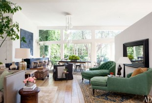 Arch Digest Patrick Dempsey CA home