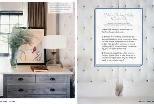 Master bedroom details Estee Stanley